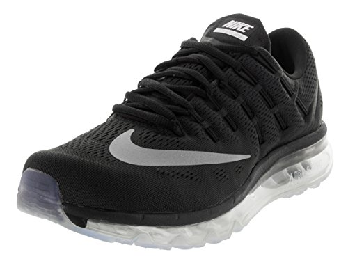 5e08bb7a48b3 Galleon - Nike Men s Air Max 2016 Black White Dark Grey Running Shoe 13 Men  US