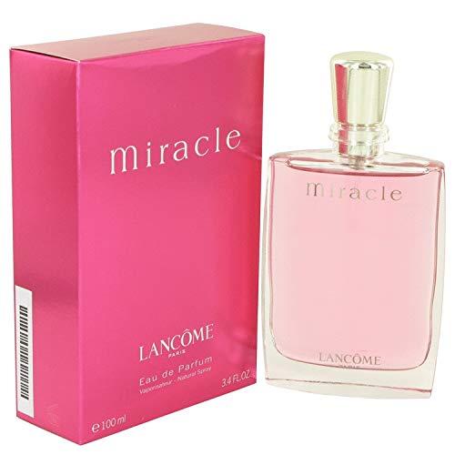 - MIRACLE by Lâñcómé for Women Eau De Parfum Spray 3.4 oz