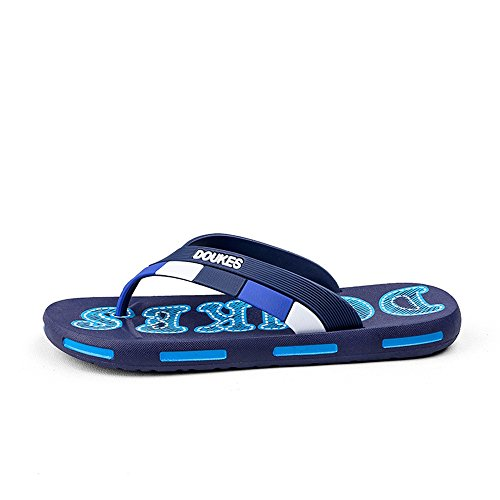 Chancleta Sandalias la los Chancleta clásicas Chancleta Hombres la la EU los 2018 Azul de de Pantuflas de tamaño Marrón 42 Hombres clásica Color de de vAdqdU6w