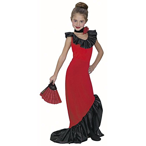 Child's Spanish Dancer Dress Costume (Size:Small 4-6) (Girls Spanish Flamenco Dancer Costume)