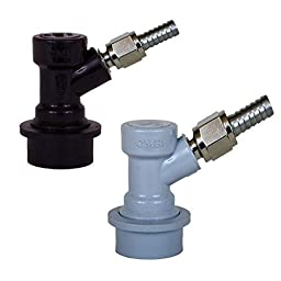 Ball Lock Home Brew Keg Tap MFL Coupler Set