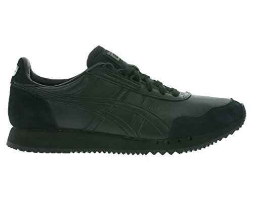 Onitsuka Dualio sneaker Tiger leather asics D6L1L Real black 9090 ZfwSqPPW