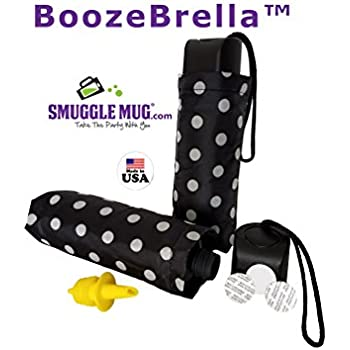 BoozeBrella by Smuggle Mug. Disguised 9 Ounce Umbrella Flask