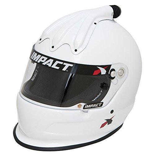 Helmet - Super Charger SNELL15 MED White