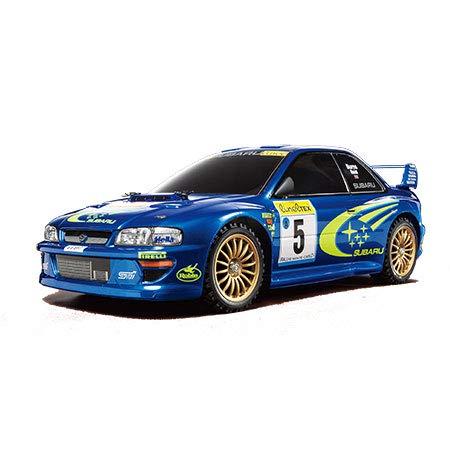 (Tamiya America, Inc 1/10 1999 Subaru Impreza Monte-Carlo 4WD Rally TT-02 Kit, TAM58631 )