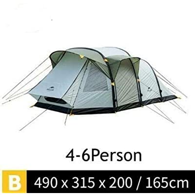 RT 4-6 Person Gray Wormhole TPU Inflating Poles Outdoor Tent: Garden & Outdoor
