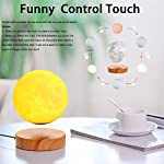 VGAzer Levitating Moon Lamp – Amazing Floating and Spinning in Air Freely – Diameter 159 mm (6.2″)