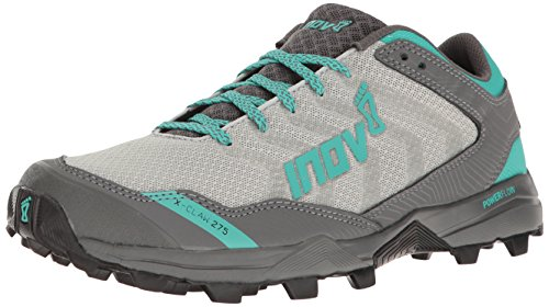 Inov-8 Women's X-Claw 275 Chill Trail Runner, Silver/Teal/Grey, 7 E US by Inov-8