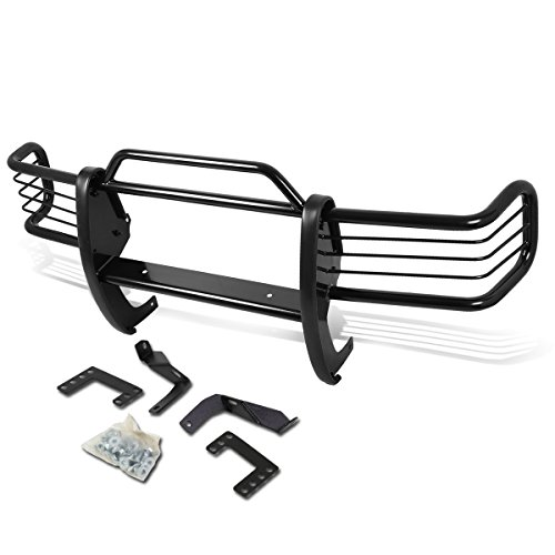 Jeep Grand Cherokee ZJ Front Bumper Protector Brush Grille Guard (Black)