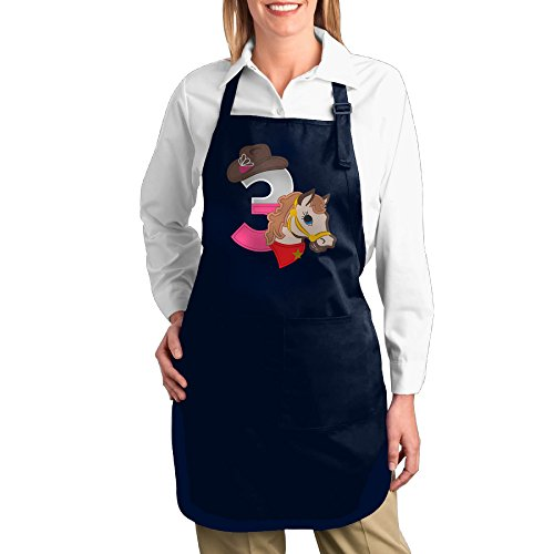 Swag Dance Costume Ideas (Dogquxio Cowgirl Number Kitchen Helper Professional Bib Apron With 2 Pockets For Women Men Adults Navy)