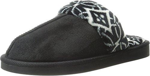 Vera Bradley Dames Comfortabele Pantoffels Zwart
