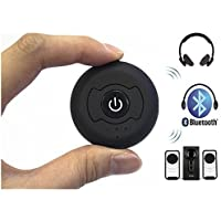 NewRice Wireless Bluetooth 4.0 Audio Transmitter, Support Two Bluetooth Headphones Or Speakers Simultaneously for TV/MP3/MP4
