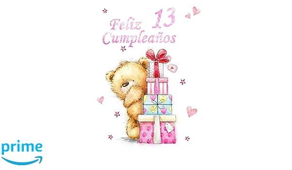 Amazon.com: Feliz Cumpleaños 13: Mejor Que una Tarjeta de ...