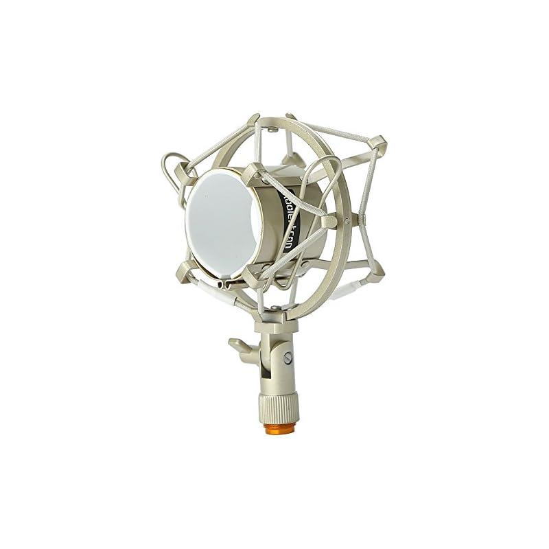 Koolertron Universal 50MM Microphone Sho