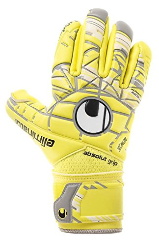 Surround Goalkeeper Glove (Uhlsport Eliminator Absolutgrip Finger Surround Soccer Goalie Gloves)