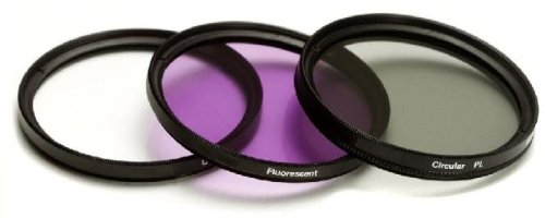 SAVEoN 52mm Filter Kit For Panasonic Lumix DMC-FZ150K, DMC-FZ150, DMC-FZ200, DMC-FZ200K, DMC-G5, DMC-G5K, DMC-G5KS Digital Camera Includes 52mm Multi-Coated 3 PC Filter Kit (UV, CPL, FLD) + LensPen Cleaning Kit + Lens Cap Keeper + Camera Cleaning Kit by SAVEoN