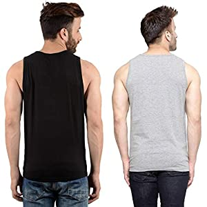 hotfits Men's Classic Fit Gym T-Shirt (Pack of 2)