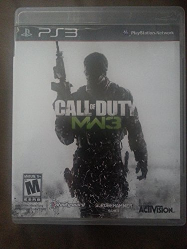 PS3 Call of Duty MW3 (Call Of Duty Modern Warfare 3 Campaign Multiplayer)