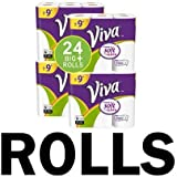 VIVA Choose-A-Sheet* Paper Towels, White, Big Plus Roll, 24 Count