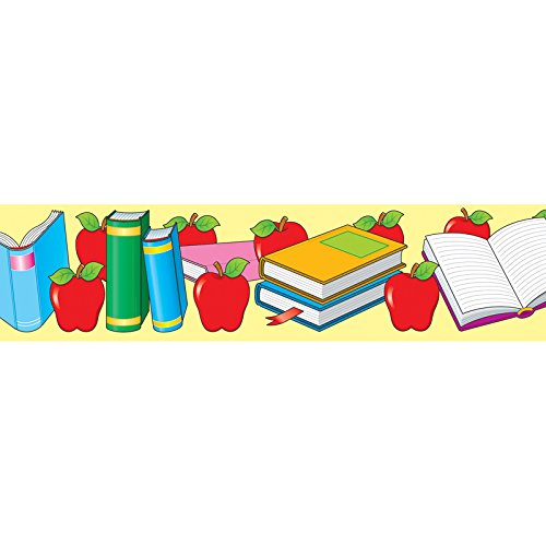 Carson Dellosa Apples and Books Borders (3335)