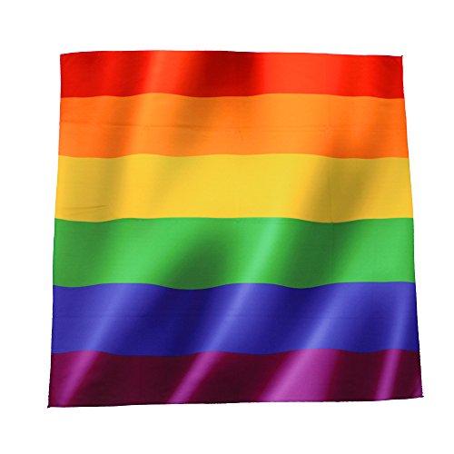 BlueSkyDeer Gay Pride Rainbow Colors Bandana from BlueSkyDeer