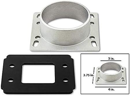 Racing Air Intake MAF Filter Adapter Plate for Mitsubishi 3 Inlet Mass Air Flow Sensor Adapter