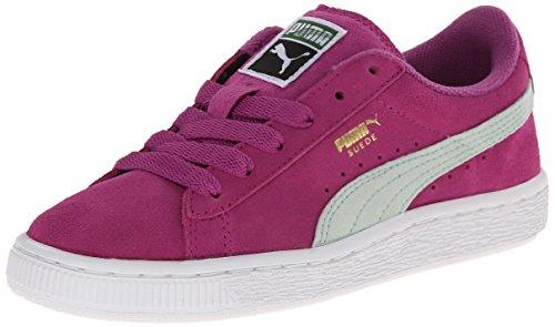 PUMA Suede JR Sneaker  , Vivid Viola/Bay, 11 M US Little Kid