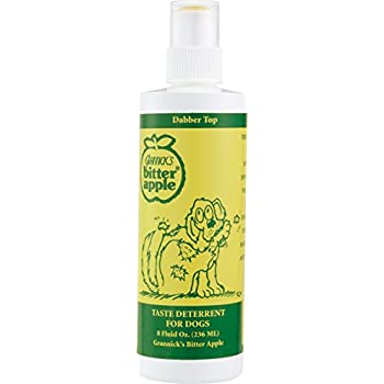 Grannick Bitter Apple with Dabber Top for Dogs 8ounce