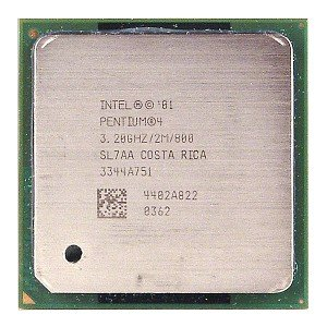 (Intel Pentium 4 Extreme Edition 3.2GHz 800MHz 512KB Socket 478 CPU)