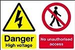 Danger Safety Sign - Multi / Danger H...
