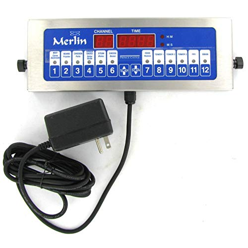 (Prince Castle 12-Channel Single Function Digital Timer)