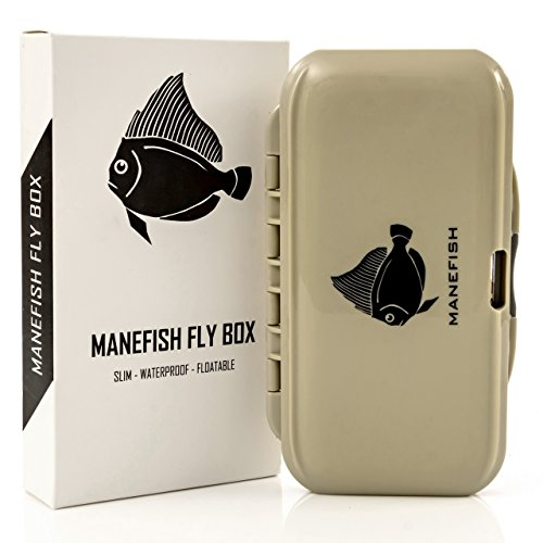 Manefish Fly Box - Slim Fly Fishing Box (Fly Fishing Tackle Box compare prices)