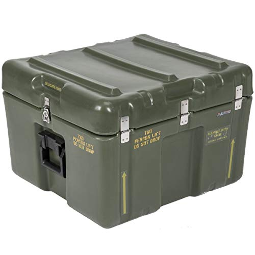 Pelican 14-Gallon Hardigg Waterproof Hard Case Big Protective Storage Trunk with Foam Insert (Storage Pelican Ammo)