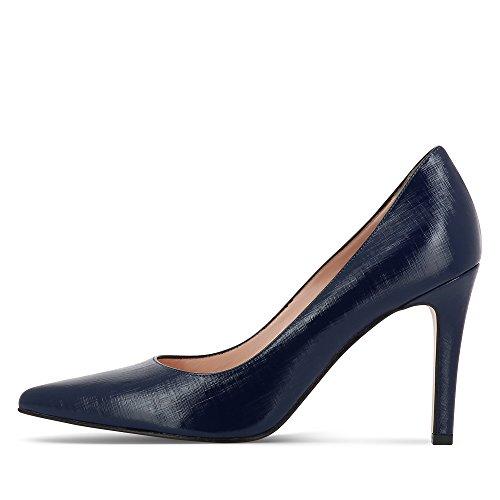 Evita Shoes - Zapatos de vestir de Piel para mujer Azul - azul oscuro
