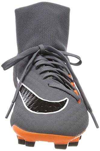 M D Grey Orange Dark NIKE 5 Soccer Academy US 3 FG DF Men's Total 11 Cleat Phantom White vw6xavPR