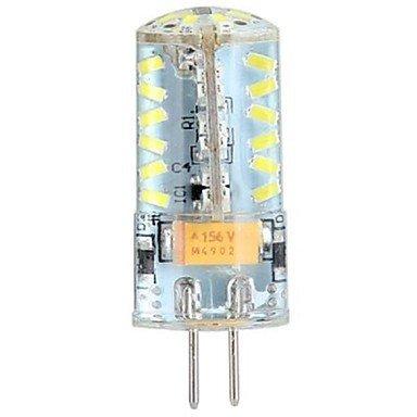 3W G4 Ampoules Maïs LED LED à Double Broches T 57 diodes électroluminescentes SMD 3014 Blanc Froid 250lm 6000-6500K DC 12 AC 12 AC 24 DC