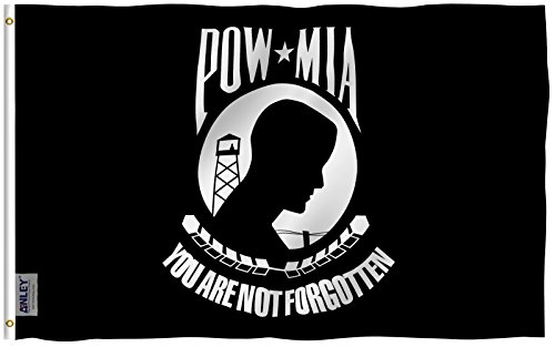 Anley [Fly Breeze 3x5 Foot POW MIA Flag - Vivid Color and UV