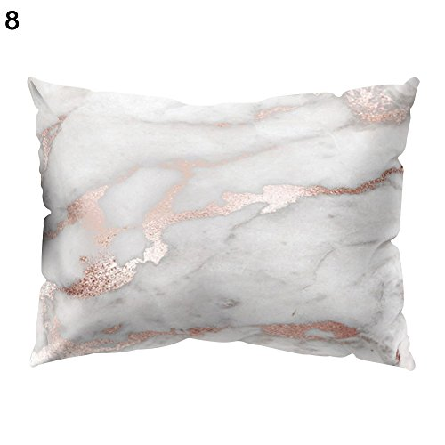 (Chair Cover Spandex - 1pc Marble Pattern Throw Pillow Case Sofa Bed Cushion Cover Home Decor - Copper 40x40 Sectional Marine Anchor Jaipur Moroccan Tassel Room Male Teal Cream Outdoor Thick Neutr)