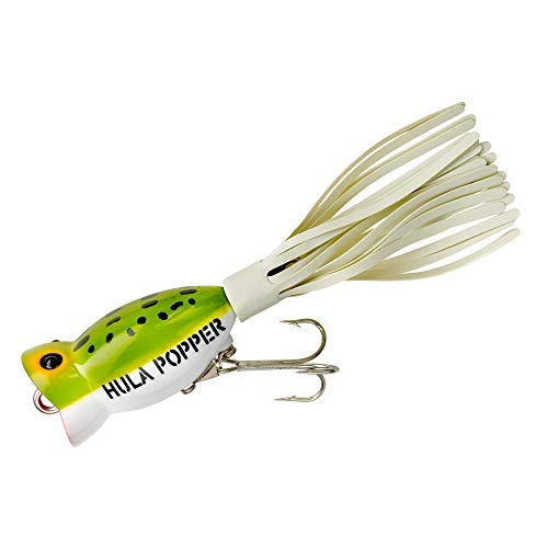 - Arbogast Hula Popper Frog White Belly