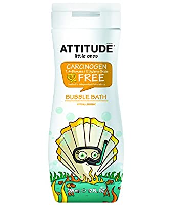 ATTITUDE Bubble Bath, Original, 12 Fluid Ounce
