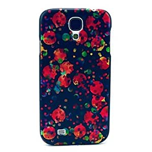 LIMME Red Jellyfishes View Pattern Plastic Protective Back Cover for Samsung Galaxy S4 I9500