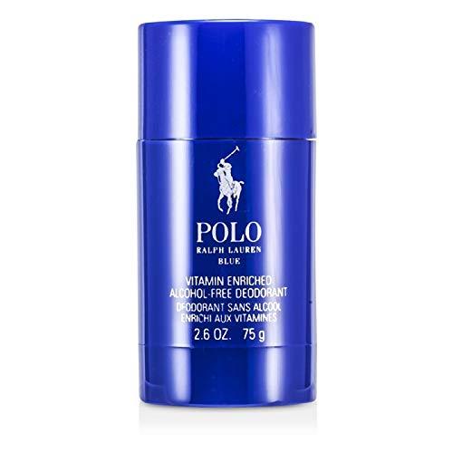 Râlph Lâuren ṖoḶo Blue Deodorant Stick Men Alcohol Free 2.6 OZ. / 75 g. (Ralph Lauren Romance Perfume Collection For Women)