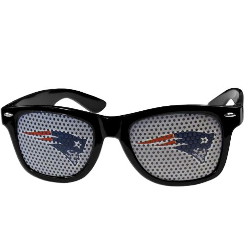 NFL New England Patriots Game Day Shades, Black