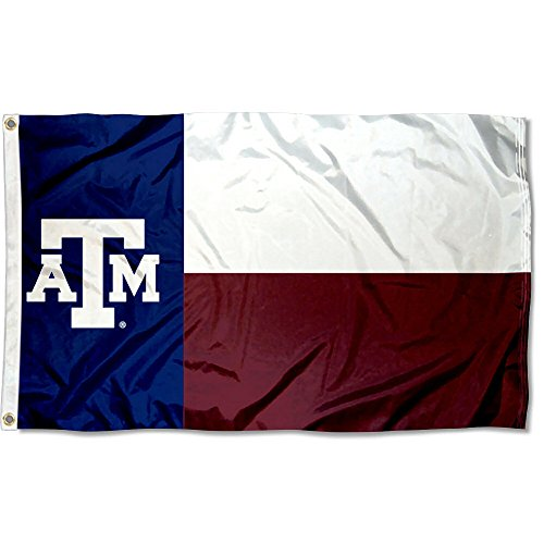 (College Flags and Banners Co. Texas A&M Aggies Texas State Flag)