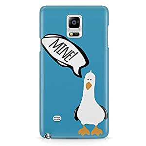 Loud Universe Blue Seagull finding Nemo Samsung Note 5 Case Seagull Art work Samsung Note 5 Cover with 3d Wrap around Edges