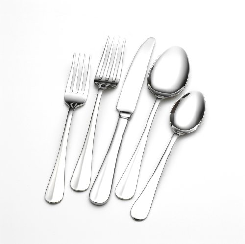 Towle Living Hartford 101-Piece Flatware (Satin Cold Meat Fork)