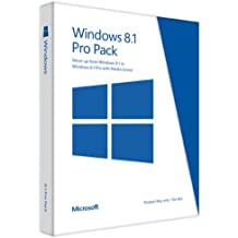 Microsoft Windows 8.1 Pro Pack (Win 8.1 to Win 8.1 Pro Upgrade) - Key Card