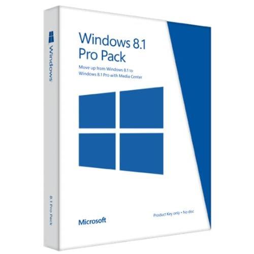 windows 8 1 pro pack key