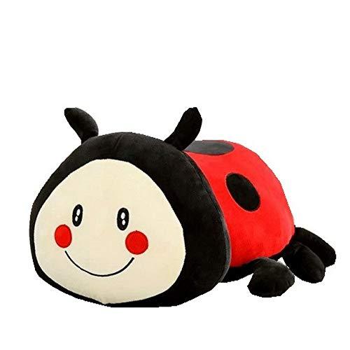 (XuBa Ladybug Plush Toy Cute Stuffed The Beetles Girl Plush Pillow Creative Doll Super Soft Sofa Decorative Pillow Children Kids Toys Ladybug)