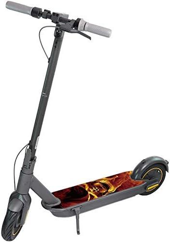 BLOUR Scooter Elettrico Adesivo Fai da Te per Ninebot Max G30 kickscooter Pedale Adesivi Antiscivolo Nastro in PVC Skateboard Impermeabile Personalizzato